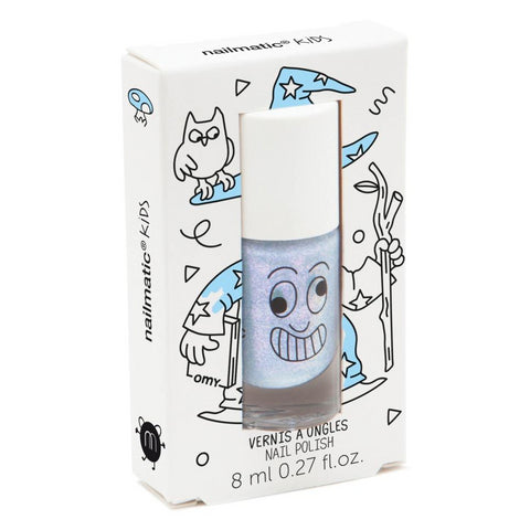 Nailmatic Nail Polish: Merlin Pearly Blue