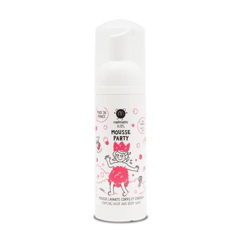 Nailmatic Hair and Body Mousse: Strawberry