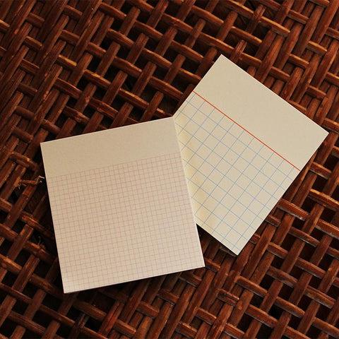 Paperways: Gluememo Duo - Bald Square Paperways Stationery - Bon Tot