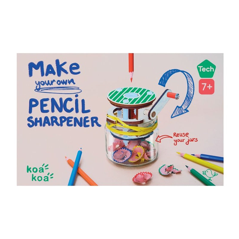 Koa Koa: Build a Pencil Sharpener