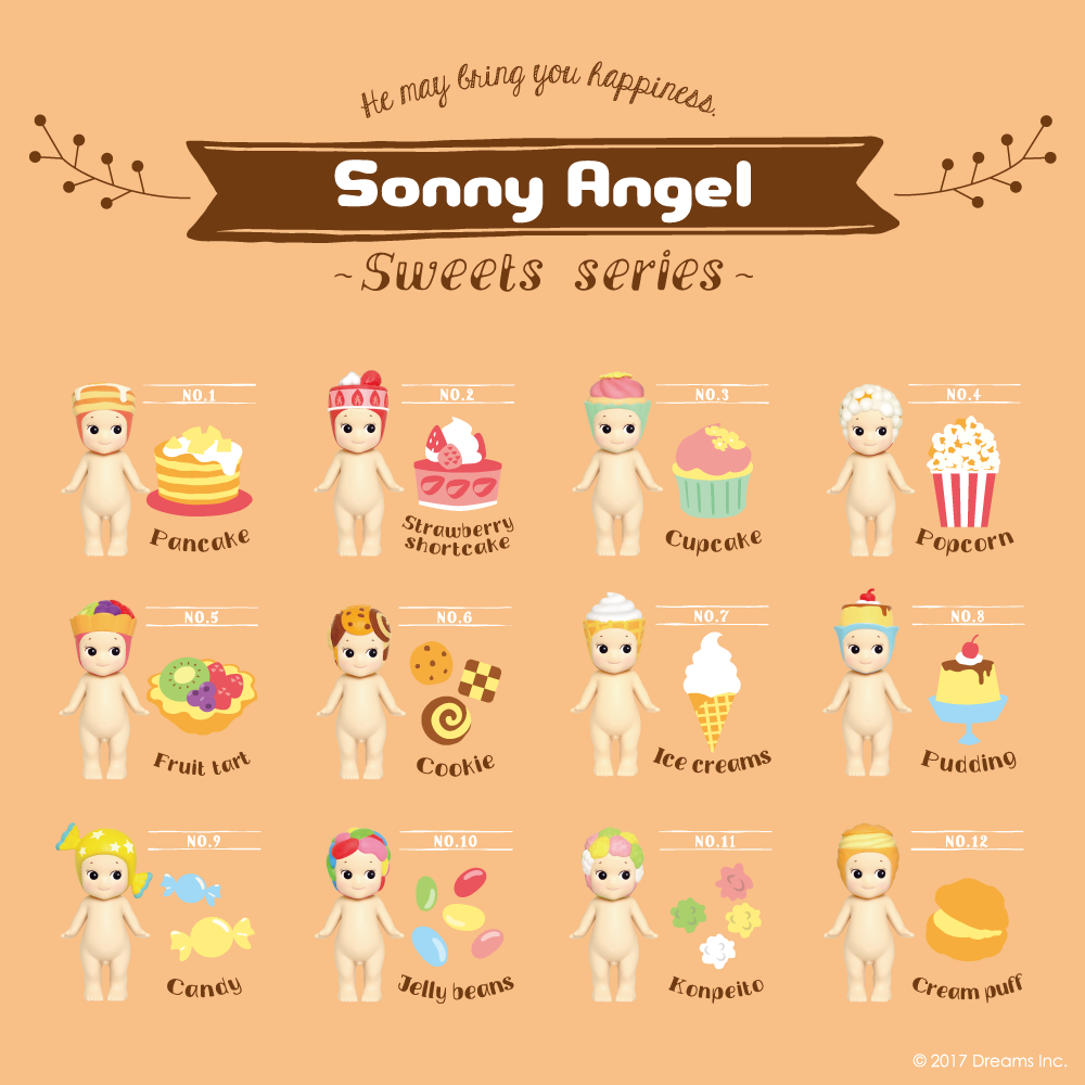 Sonny Angel: Sweets Series