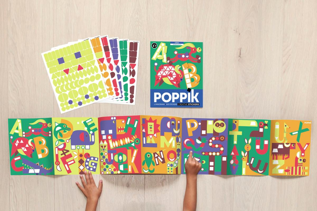 Poppik: Panorama Poster - Letters