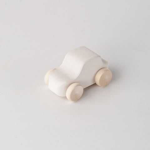 Raduga Grez: Toy Car - White