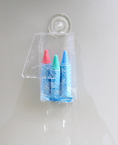 kitpas: 3 pack Bath Crayons - Pink, Purple, Brown kitpas - Bon Tot