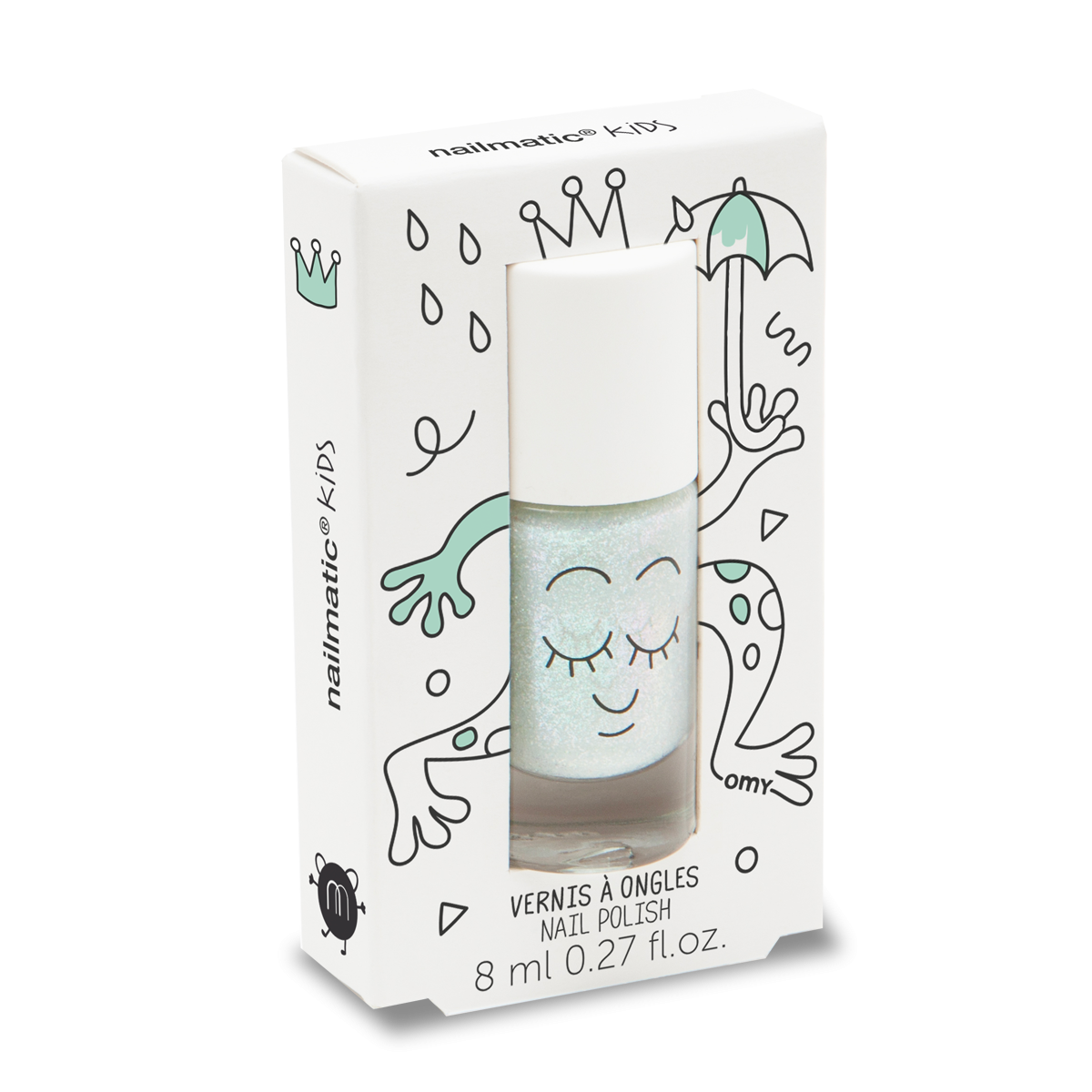 Nailmatic Nail Polish: Aldo Pearly Green Nailmatic - Bon Tot