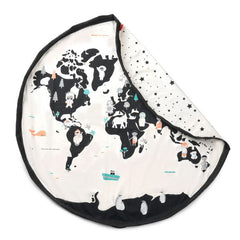 Play&Go: Toy Storage Bag and Play Mat - World Map Play&Go - Bon Tot