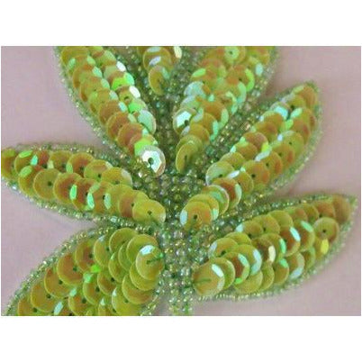a-091-green-apple-iris-sequin-and-bead-leaf-applique