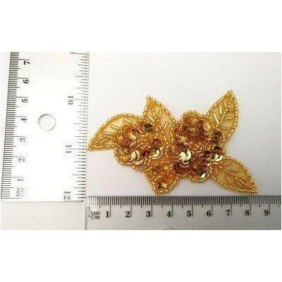 A-103 Gold applique