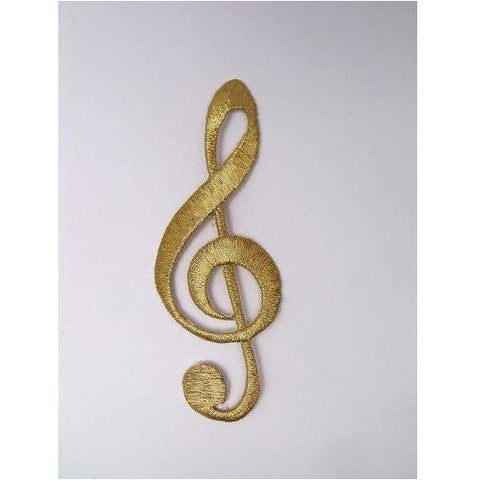 EMB-019: Gold music note