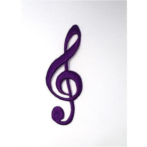 EMB-019: Purple music note