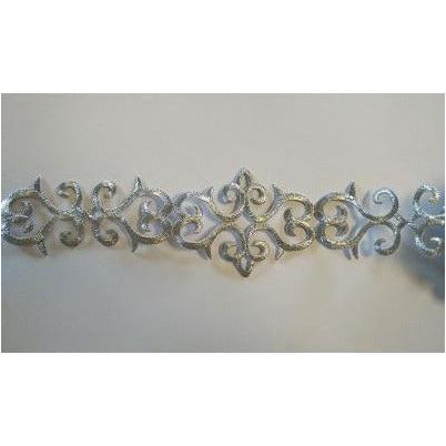 ET-032: Silver scroll trim