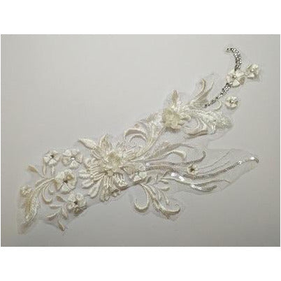 LA-034: Ivory flower spray