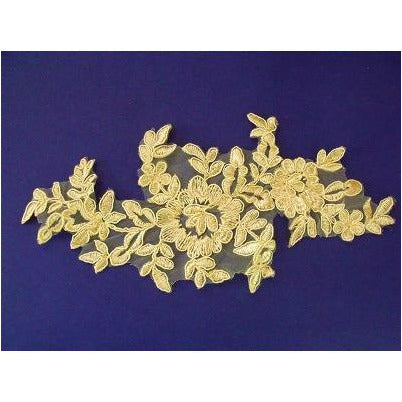 LA-011 Lemon lace applique