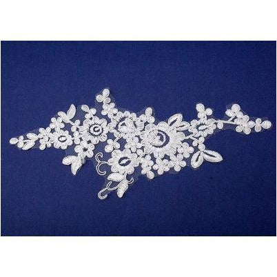 LA-021 Ivory lace applique