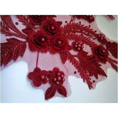 la-026-burgundy-beaded-lace-pair