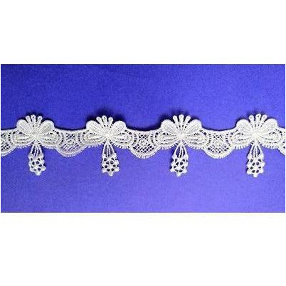 LT-026: White butterfly trim