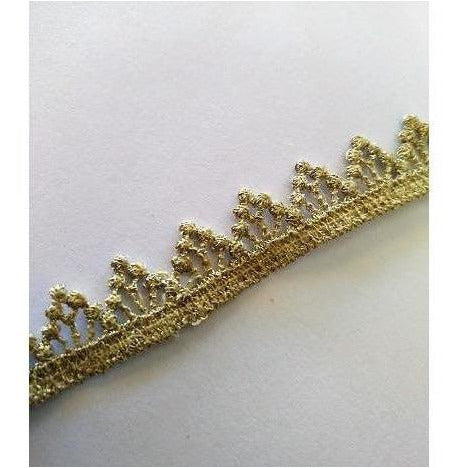 LT-036: Small metallic gold trim