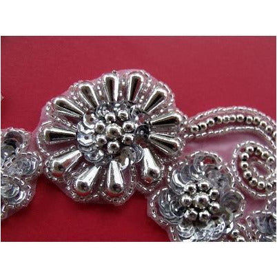 P-036 Silver flower spray