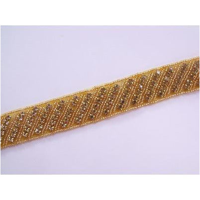 RT-001, Gold Rhinestone Trim