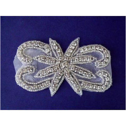 R-116 Rhinestone applique with star centre