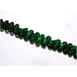 Sequin Elastic, 1 row, Green
