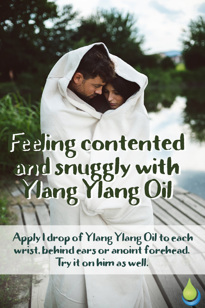 FEELING CONTENTED AND SNUGGLY WITH YLANG YLANG ESSENTIAL OIL