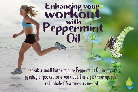 Enhancing your workout with Peppermint Oil