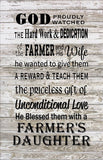 Farmer Daughter - Heartland Canvas and Signs