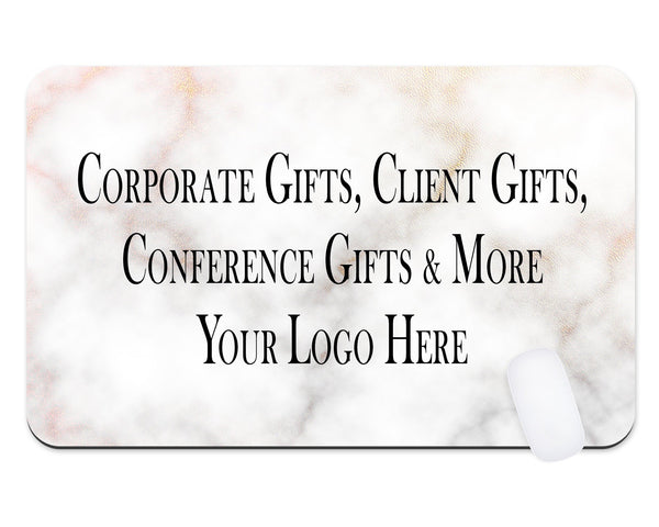 Custom Logo Desk Mat  Teacher Gift  Dorm Room  Desk Pad  Office Gift Company Logo Mouse Pad  Client Gift  Promotional Mouse Pad - Heartland Canvas and Signs