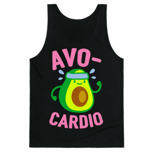 Avocardio Tank Top - Black