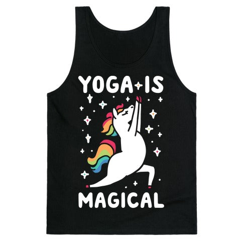 Yoga Is Magical Tank Top - Black
