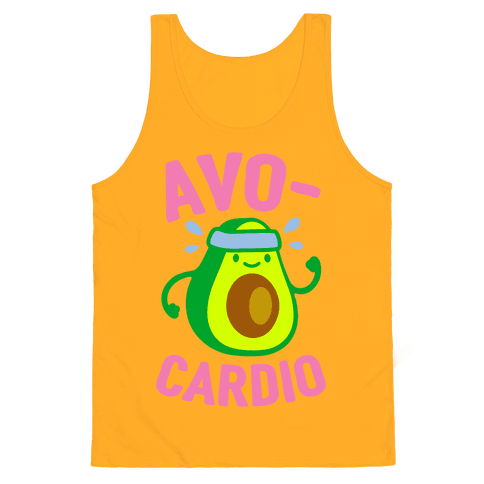 Avocardio Tank Top - Gold