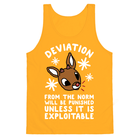 Deviation Rudolf Tank Top - Gold