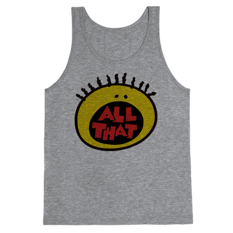 All That Tank Top - Heathered Gray