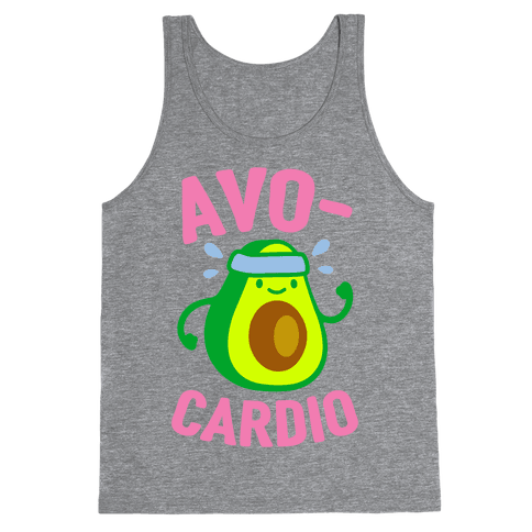 Avocardio Tank Top - Gray