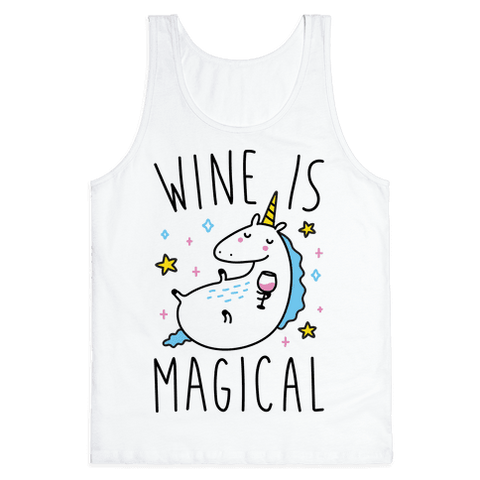 Wine Is Magical Tank Top