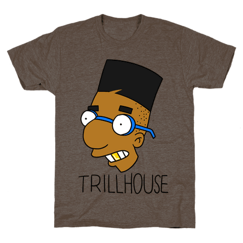Everythings Coming Up Trillhouse T-Shirt - Athletic Brown