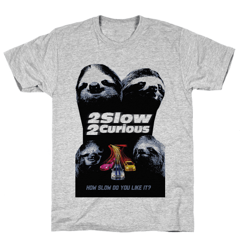 2 Slow 2 Curious T-Shirt - Gray