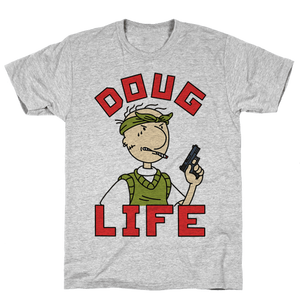Doug Life T-Shirt - Gray