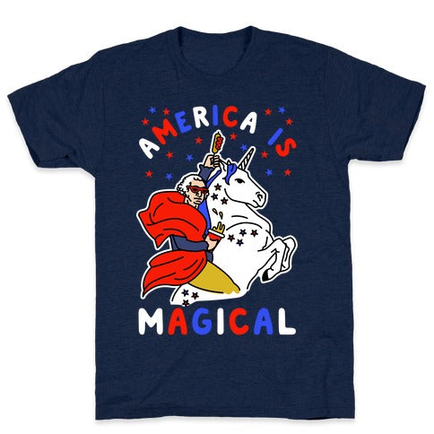America Is Magical T-Shirt - Athletic Navy