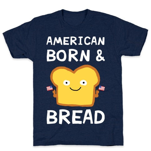 American Born & Bread T-Shirt - Athletic Navy
