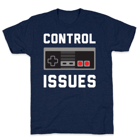 Control Issues T-Shirt - Athletic Navy