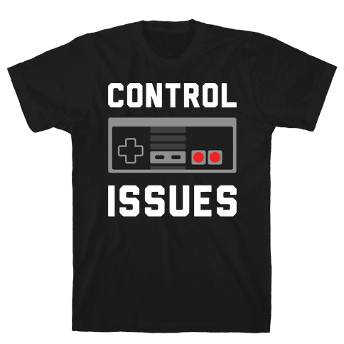 Control Issues T-Shirt - Black
