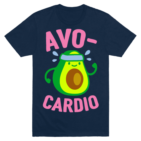 Avocardio T-Shirt - Navy