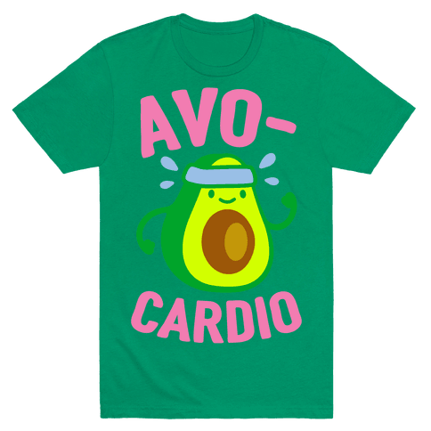 Avocardio T-Shirt - Grass