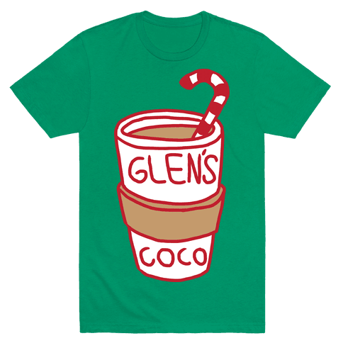 Glen's Coco T-Shirt - Green