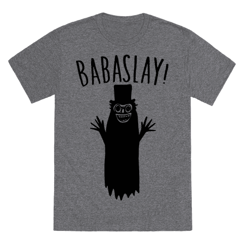 Babaslay Parody T-Shirt - Heathered Gray