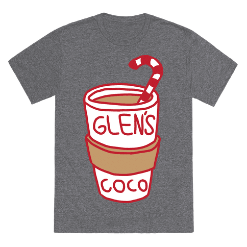 Glen's Coco T-Shirt - Heathered Gray