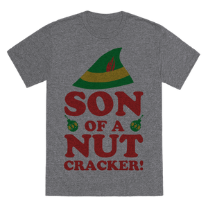 Son Of A Nutcracker Infants T-Shirt - Heathered Gray