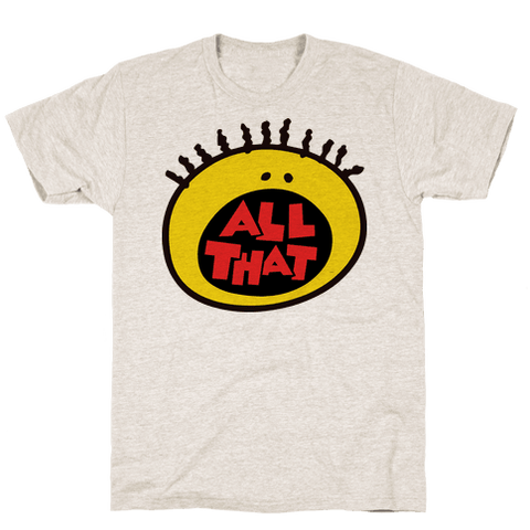 All That T-Shirt - Oatmeal